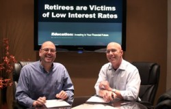 retirees are victims of low interest rates
