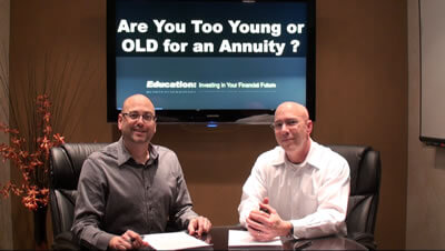 Annuities - Too Old