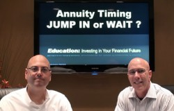 Annuity Timing - Jump in or Wait