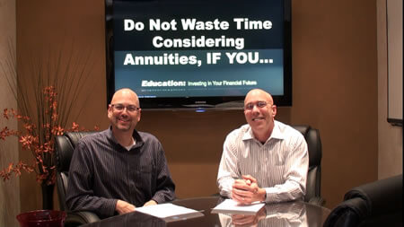 Do Not Waste Time Considering Annuities, If You…