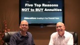 Top Five Reasons Not to Buy an Annuity