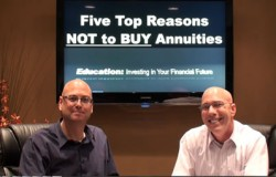 Five Top Reasons NOT to Buy