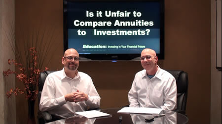 Is it Unfair to Compare Annuities to Investments
