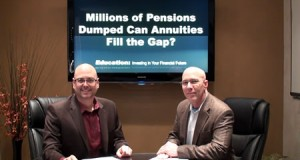 Millions of Pensions Dumped – Can Annuities Fill the Gap?