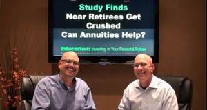 Study Finds Near Retirees Get Crushed! Can Annuities Help?