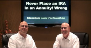 Never Place an IRA in an Annuity? Wrong!