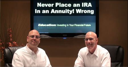 Never Place an IRA in an Annuity Wrong