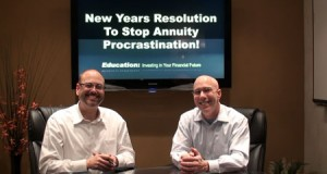Stop Annuity Procrastination: New Years Resolution!