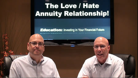 The Love Hate Annuity Relationship