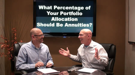 What Percentage of Your Portfolio Allocation Should Be Annuities?
