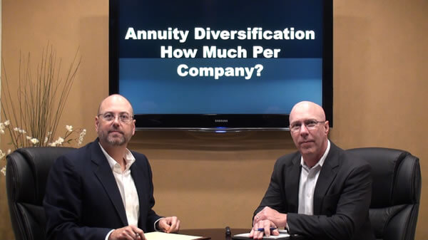 Annuity Diversification – What Amount Per Company?