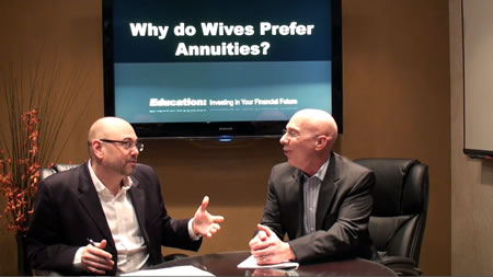 Why do Wives Prefer Annuities?