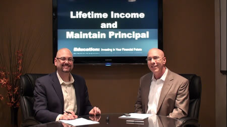 Lifetime Annuity Income and Maintain Principal