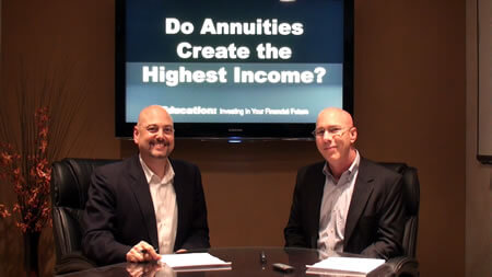 Do Annuities Create the Highest Income?