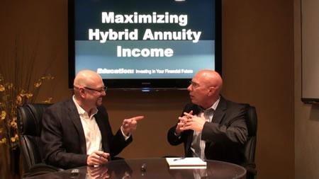 Maximizing Hybrid Annuity Income