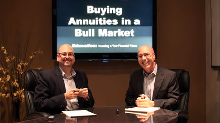 Buying Annuities in a Bull Market