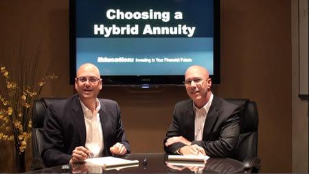 Choosing a Hybrid Annuity