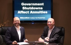 Government Shutdowns affect annuities