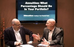 Annuities What percentage should be in your portfolio