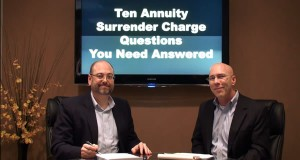 Ten Annuity Surrender Charge Questions You Need Answered