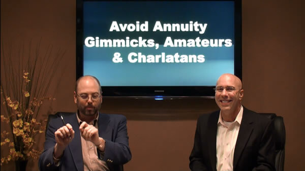 Avoid Annuity Gimmicks Amateurs and Charlatans 600