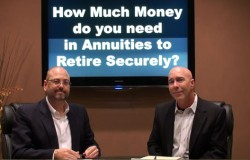How much money to you need in annuities to retire securely