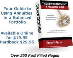 Annuity Guys Reference Book - 250 pages of Annuity Facts