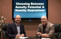 Choosing Between Annuity Potential and Annuity Guarantees