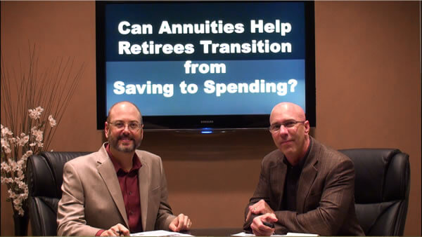 Can Annuities Help Retirees Transition from Saving to Spending?