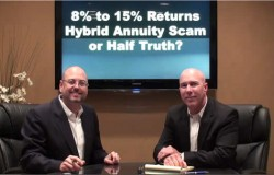 8 to 15 percent returns - hybrid annuity scam  or half truth Update
