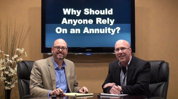 Why Should Anyone Rely on an Annuity?