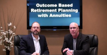 Outcome Based Retirement Planning with Annuities