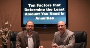 Ten Factors That Determine the Least Amount You Need in Annuities