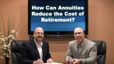 Can Annuities Reduce the Cost of Retirement?