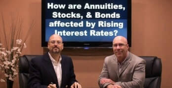 How are Annuities Stocks and Bonds affected by Rising Interest Rates