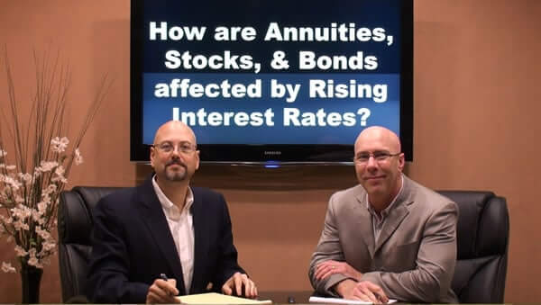 How are Annuities, Stocks and Bonds affected by Rising Interest Rates?