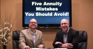 Five Annuity Mistakes You Should Avoid!