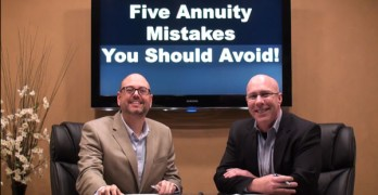 Five Annuity Mistakes You Should Avoid