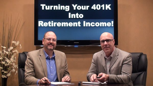 How Do You Turn Your 401k in to Retirement Income?