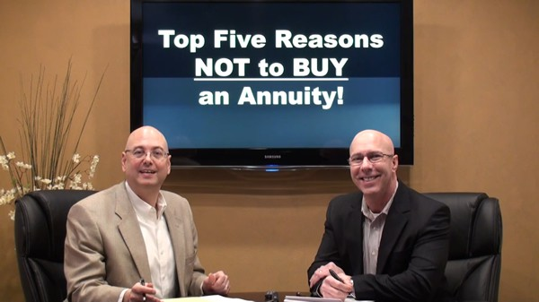 Top Five Reasons, Not to Buy an Annuity!
