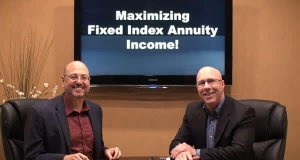 Maximizing Hybrid Fixed Index Annuity Income