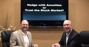 Trust the stock market or hedge with annuities?