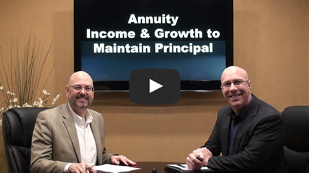 Annuity Income & Growth to Maintain Principal